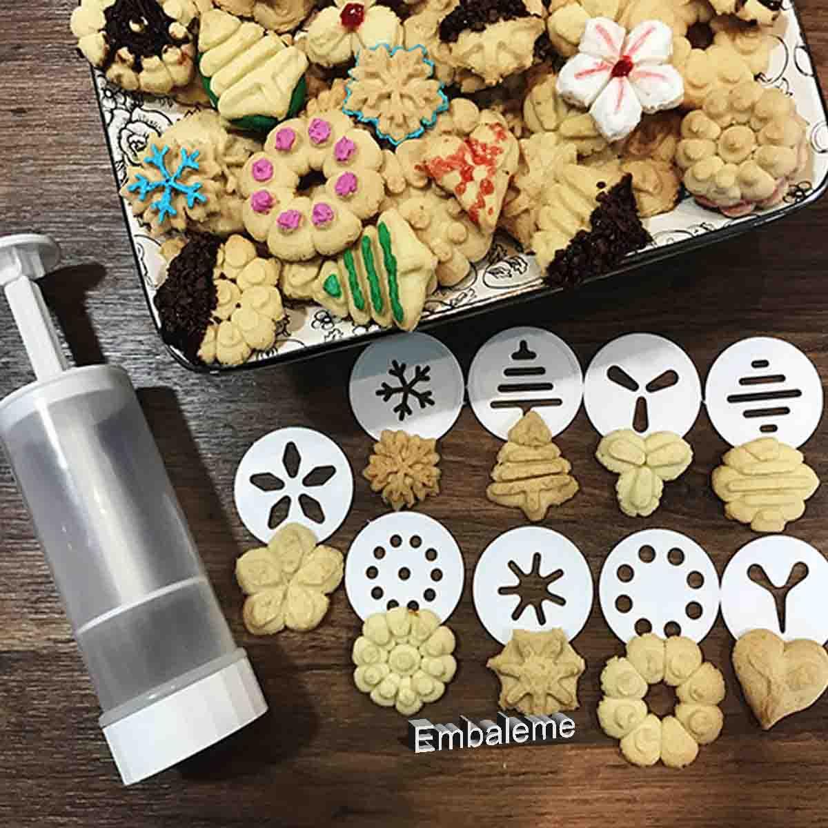 Máquina de fazer Biscoito Kit com 9 formatos DECOR-UTIL