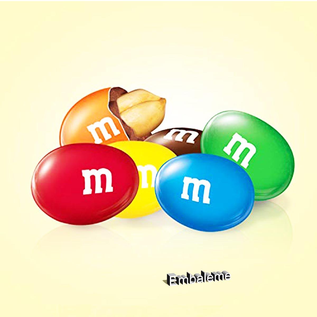 M&M Chocolate Confeite Ao Leite com Amendoim 148G