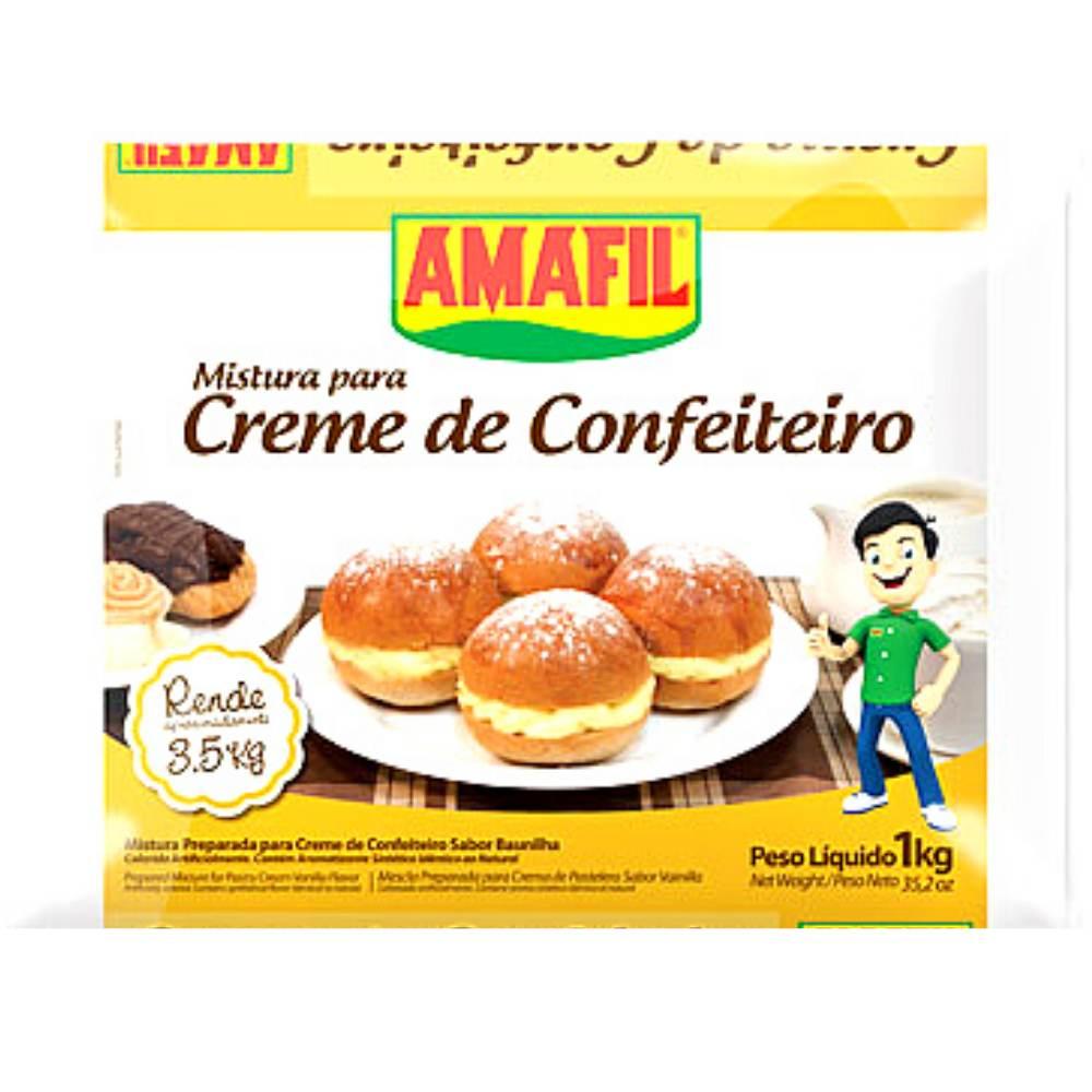 Mistura para Creme de Confeiteiro 1kg Amafil