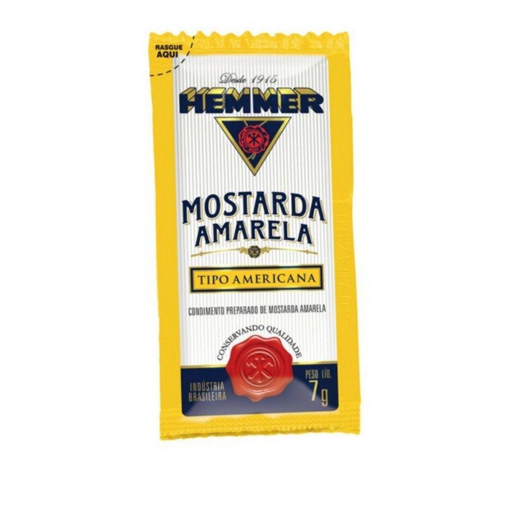 MOSTARDA AMARELA EM SACHÊ 7G HEMMER C/190