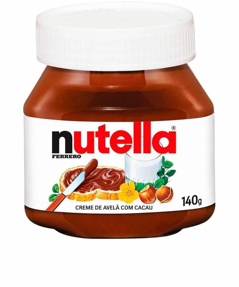 Nutella 140g Ferrero Creme de Avelã com Cacau