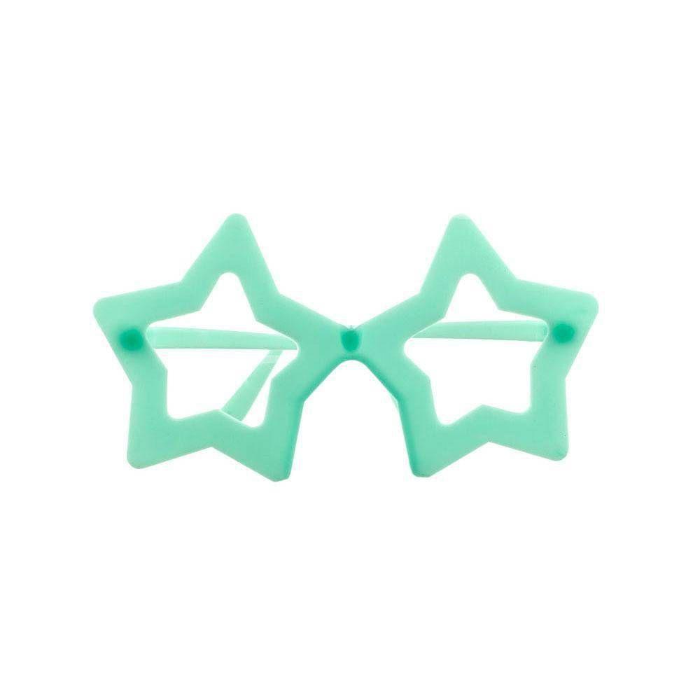 Óculos Estrela Brilha no Escuro C/10 Chic Festa