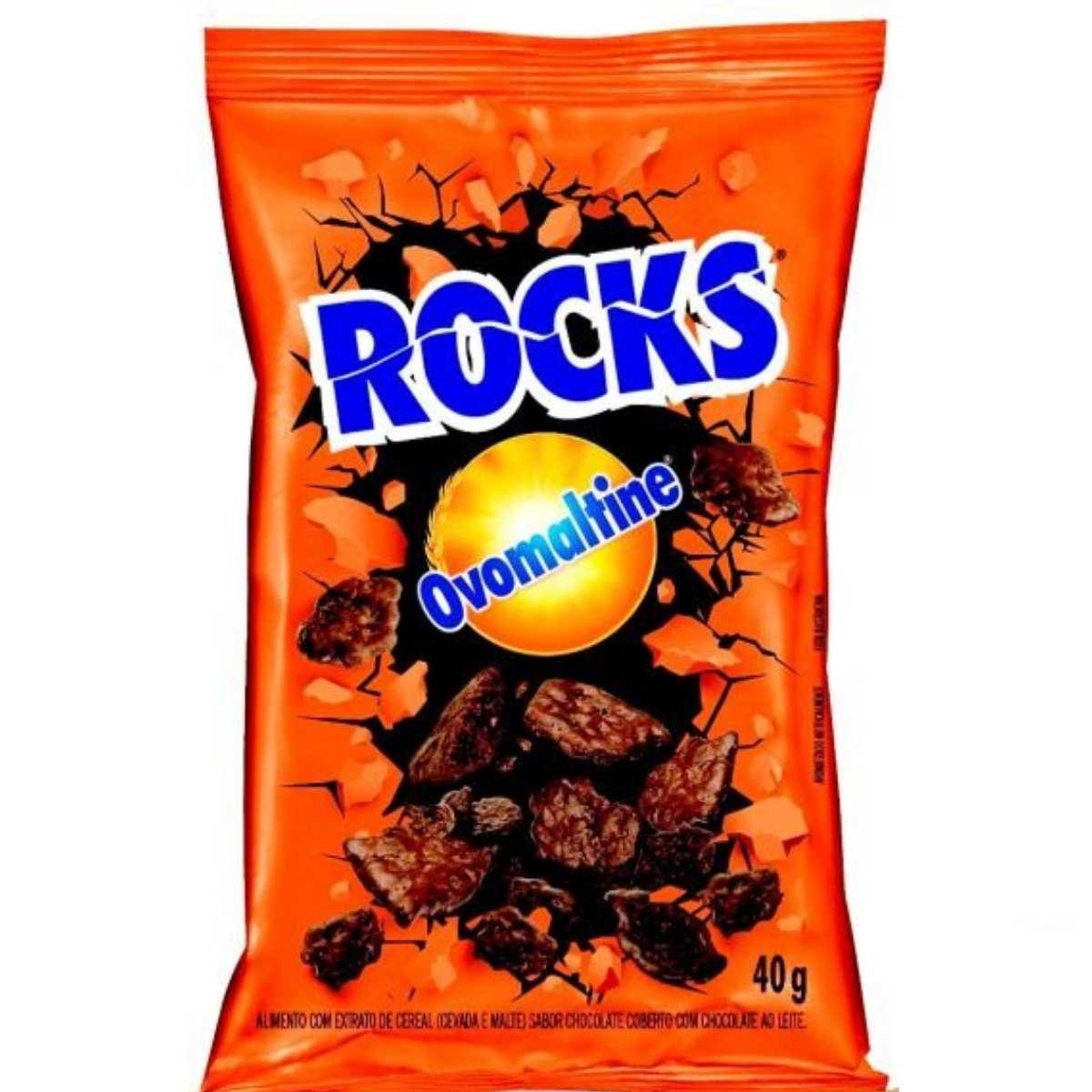 Ovomaltine Rocks 40g Flocos Crocante