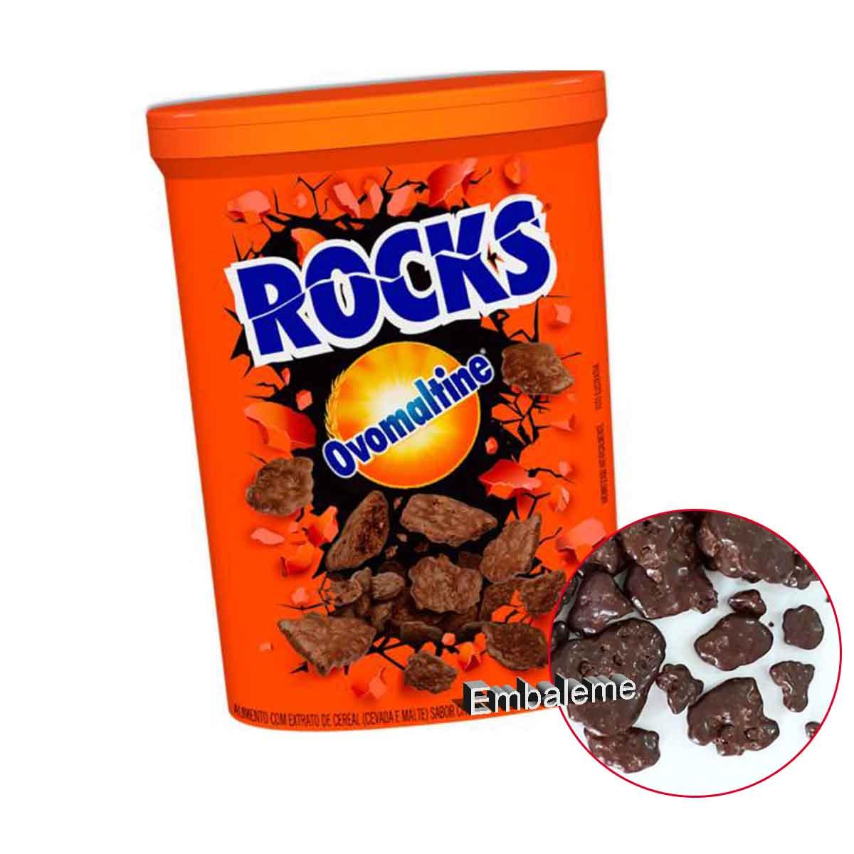 Ovomaltine Rocks flocos crocante pote 90g