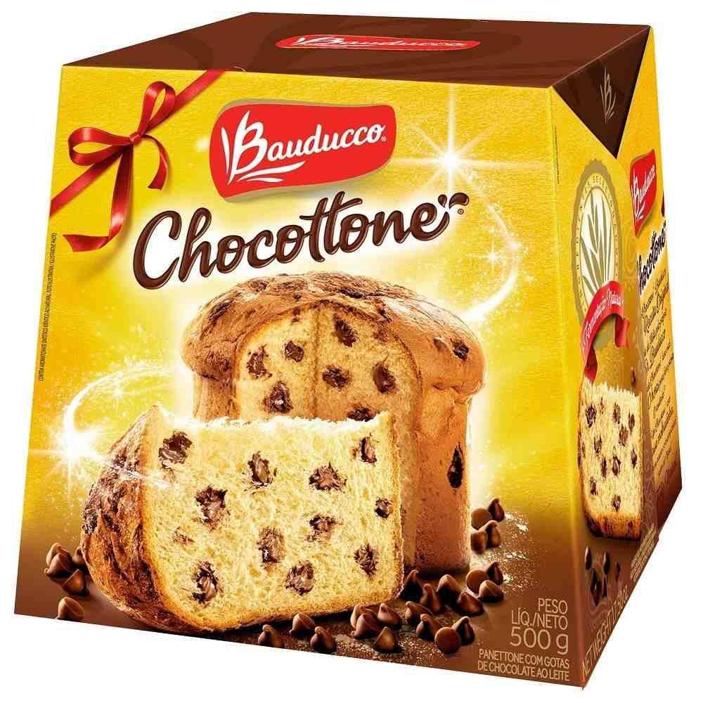 Panetone de Chocolate Chocottone 500g Bauducco