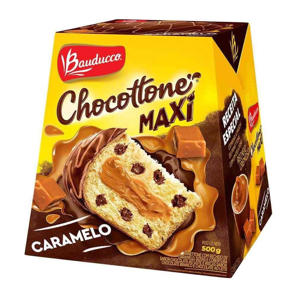 Panetone de Chocolate Chocottone Caramelo 500g Bauducco