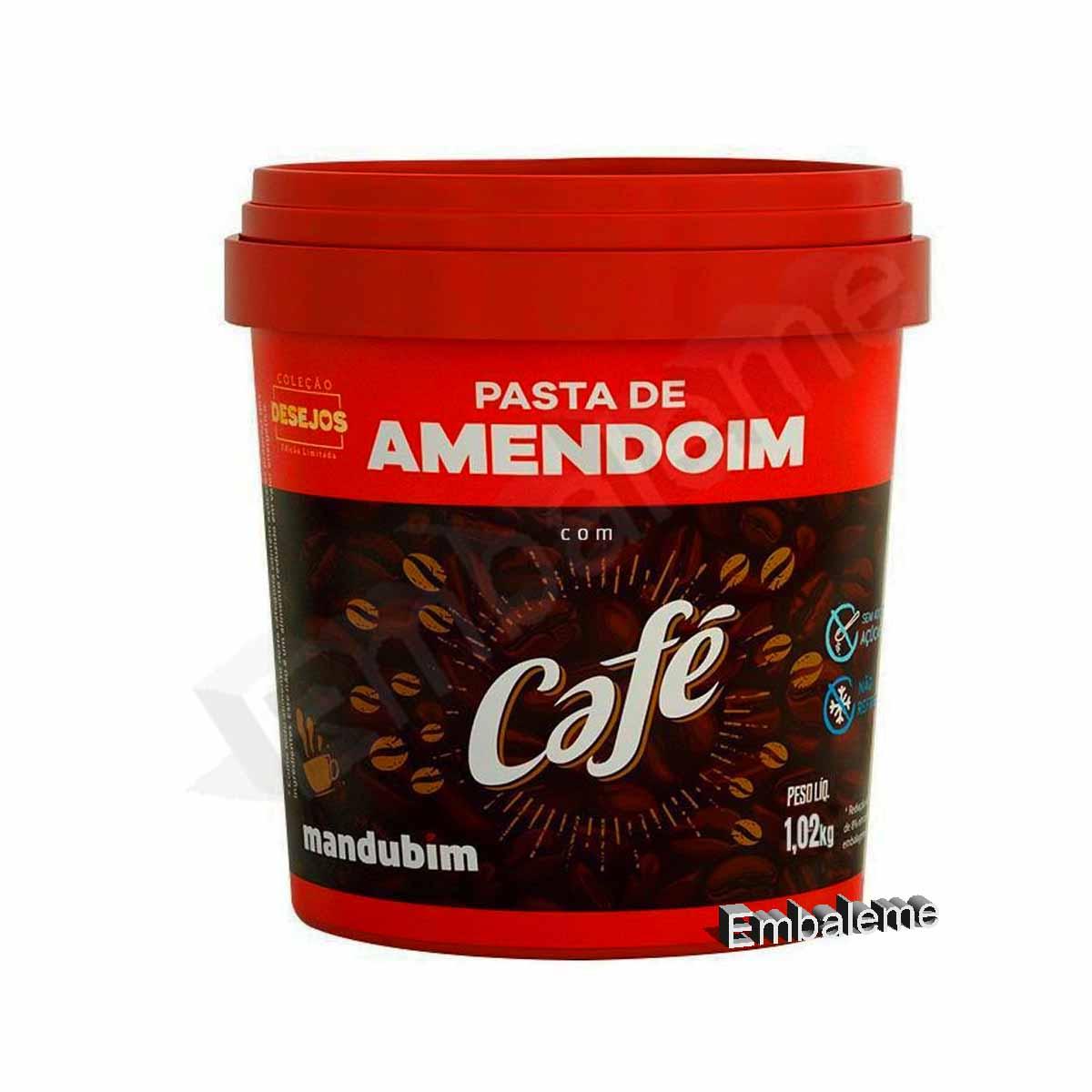 Pasta Amendoim com Café 450g Mandubim
