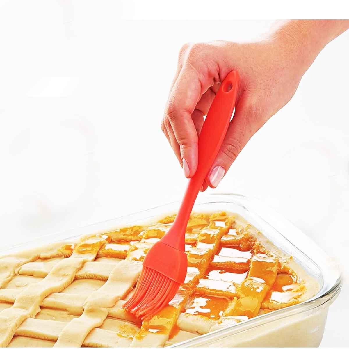 Pincel Silicone Cozinha 25,5CM de -40ºc até 230ºc  (Cores Variadas) Wincy 1 Unidade
