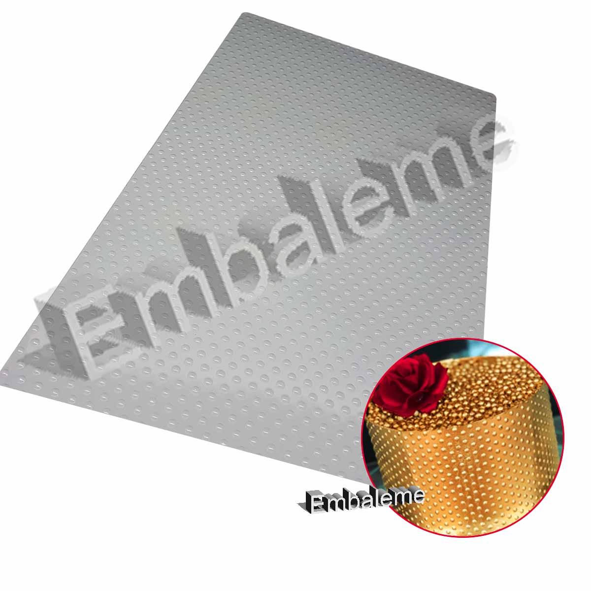 Placa de Textura Bolinhas Unidades (9378) BWB