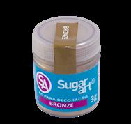 Pó para Decoração Cintilante Bronze 5g Sugar Art