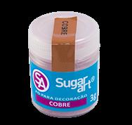 Pó para Decoração Cintilante Cobre 3g Sugar Art