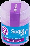 Pó para Decoração Cintilante Índigo Blue 3g Sugar Art