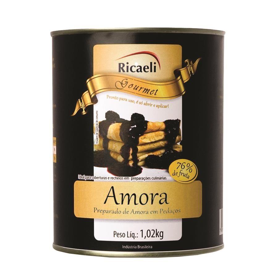 Polpa de Amora 1kg Ricaeli