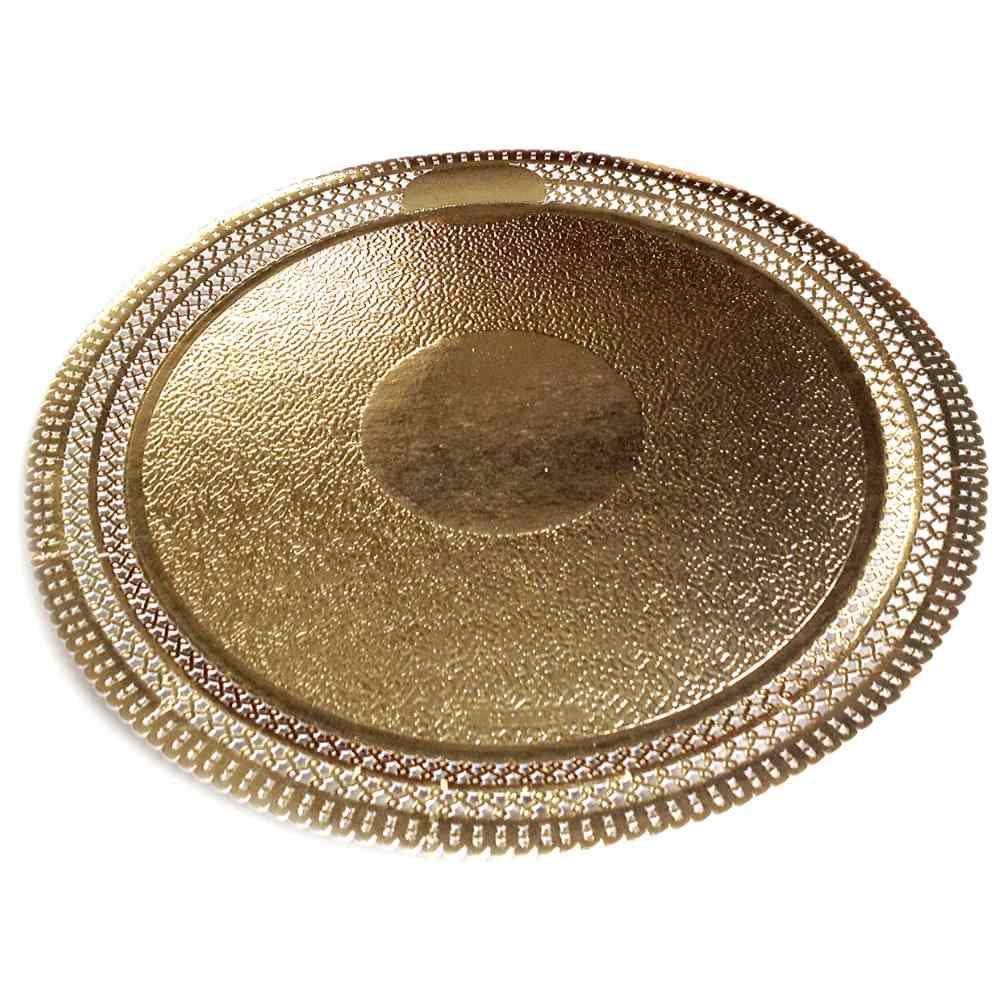 Prato Cakeboard APOLLO Redondo Ouro N°7