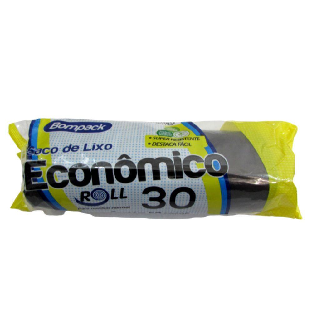 Saco Lixo 30L Bompack C/50.