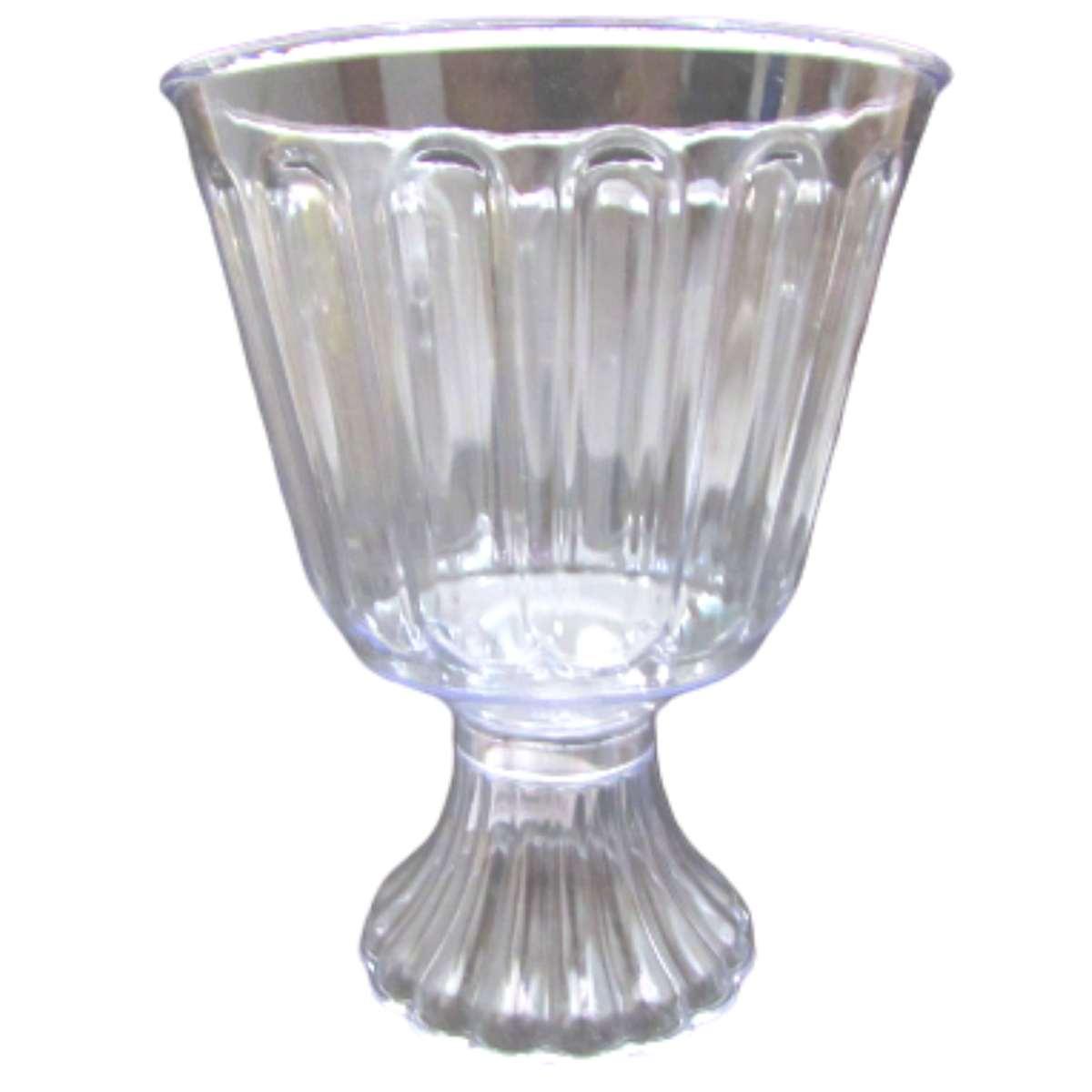 Taça de Acrílico Transparente Bolo de Colher Confeiteiro 1,250ml