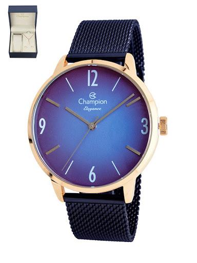 KIT Relógio Champion Feminino CN20838A