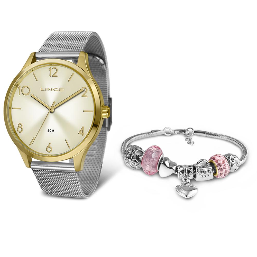 KIT Relógio Lince Feminino LRT4599L KW31