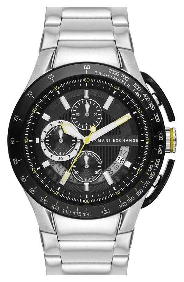 Relógio Armani Exchange Masculino Quartz AX1408/1PN