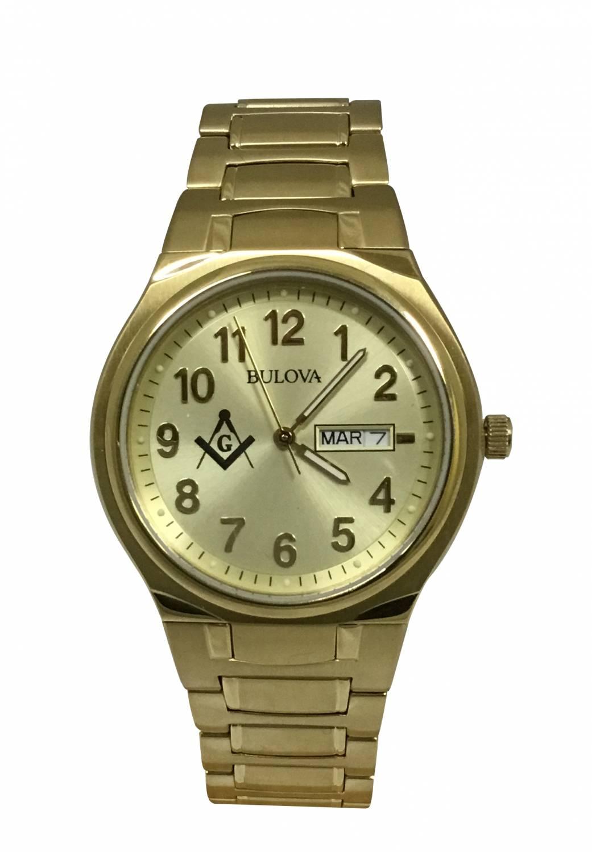 Relógio Bulova Maçonaria Masculino Quartz WB21196G-MAC