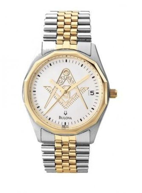 Relógio Bulova Maçonaria Masculino Quartz WB21758B-MAC
