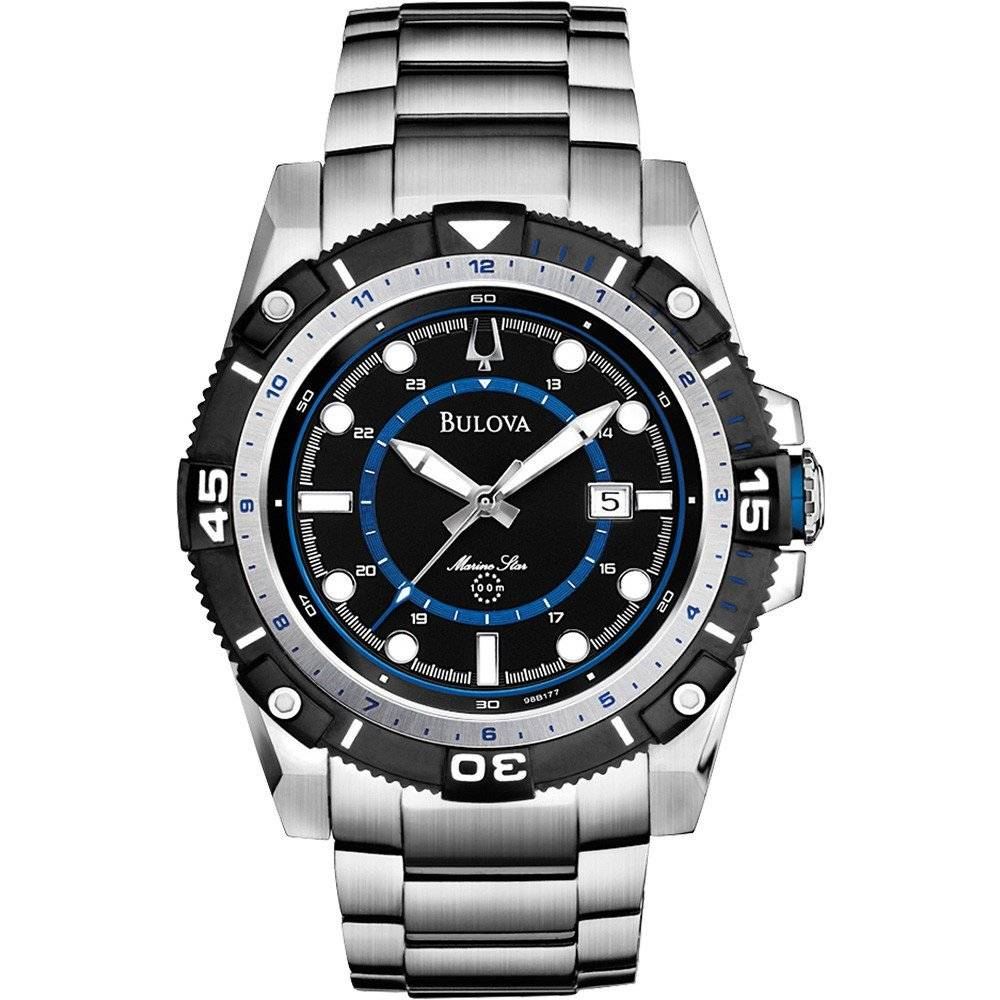 Relógio Bulova Marine Star Masculino Quartz WB31729F