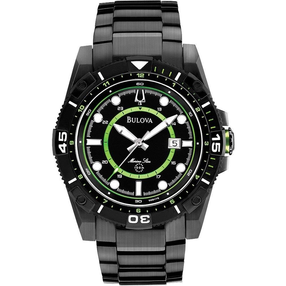 Relógio Bulova Marine Star Masculino Quartz WB31729G