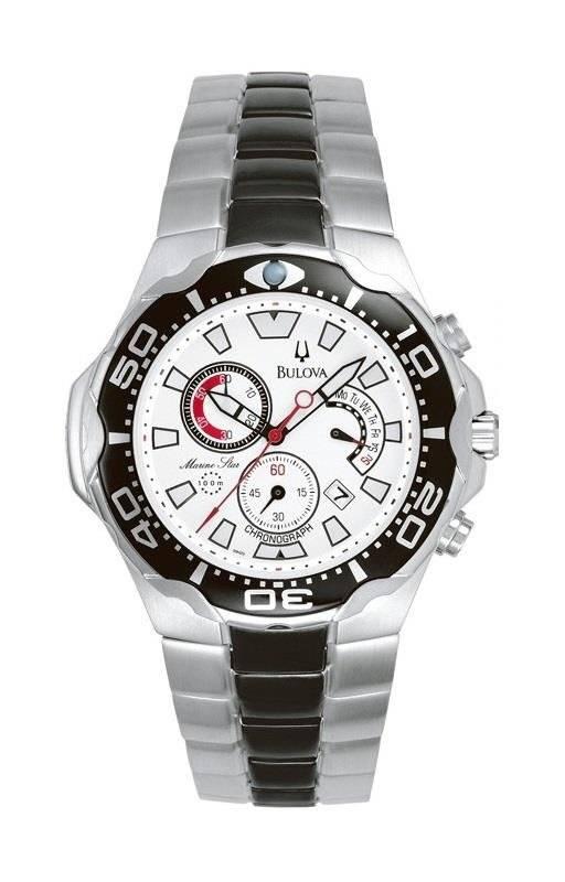 Relógio Bulova Masculino Marine Star Quartz WB30560Q