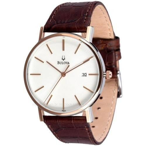 Relógio Bulova Masculino Quartz WB21150B