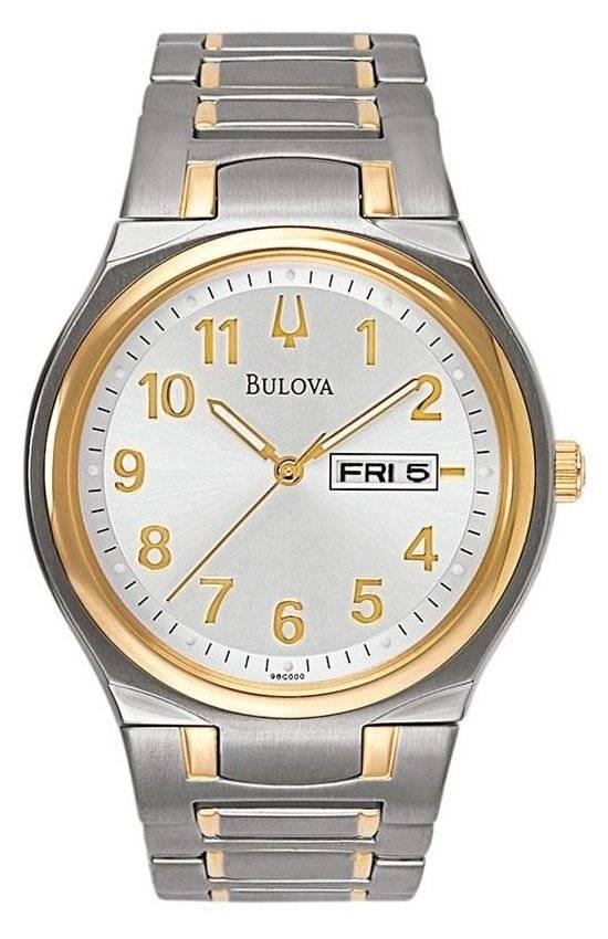 Relógio Bulova Masculino Quartz WB21196S