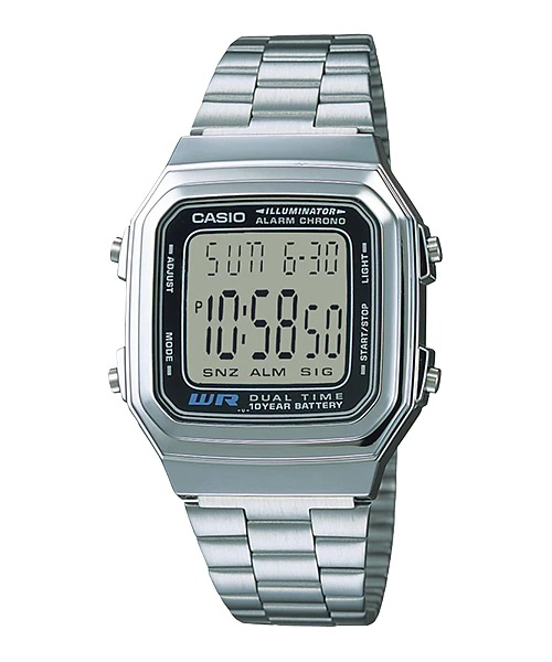 Relógio Casio Digital A178WA-1ADF