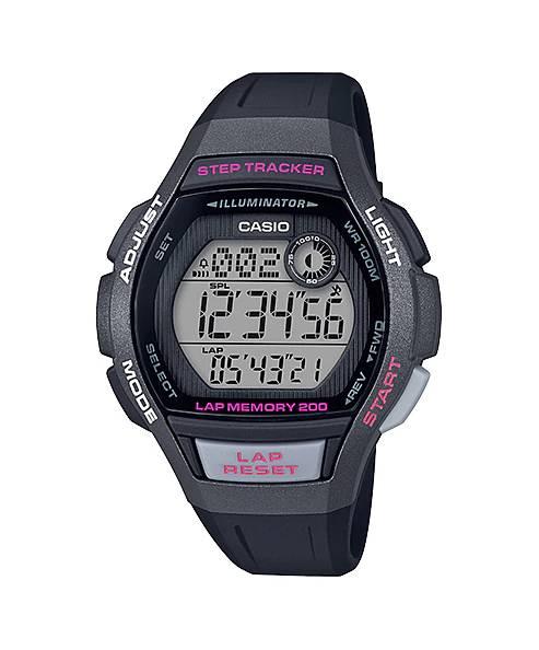 Relógio Casio Feminino Digital LWS2000H-1AVDF