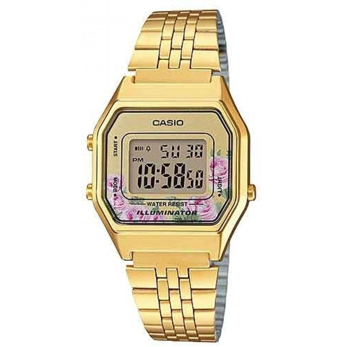 Relógio Casio Feminino Vintage Digital Quartz LA680WGA-4CDF