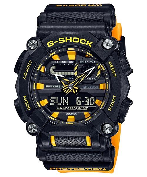 Relógio Casio G-SHOCK ANADIG GA-900A-1A9DR