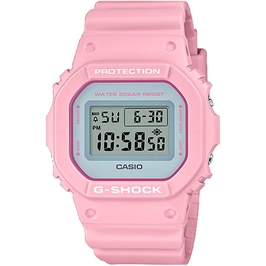 Relógio Casio G-SHOCK DIGI Feminino DW-5600SC-4DR