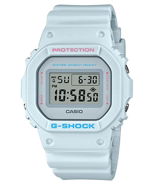 Relógio Casio G-SHOCK DIGI Feminino DW-5600SC-8DR