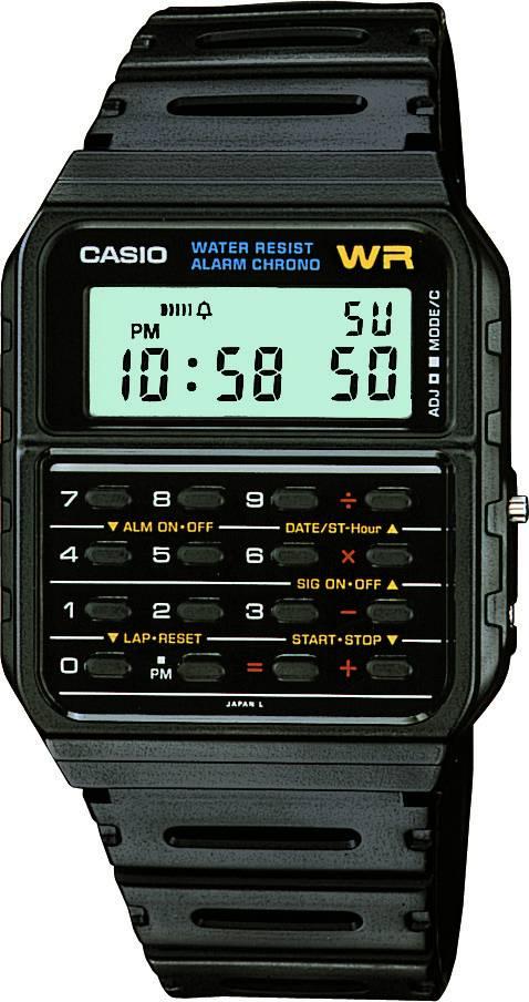 Relógio Casio Masculino Data Bank CA-53W-1Z