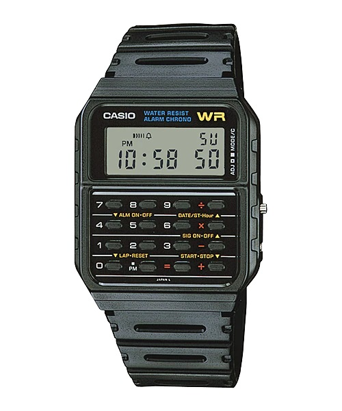 Relógio Casio Masculino Data Bank CA-53W-1Z