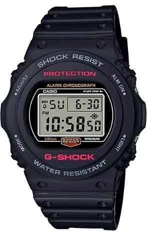 Relógio Casio Masculino G-Shock Quartz DW-5750E-1DR