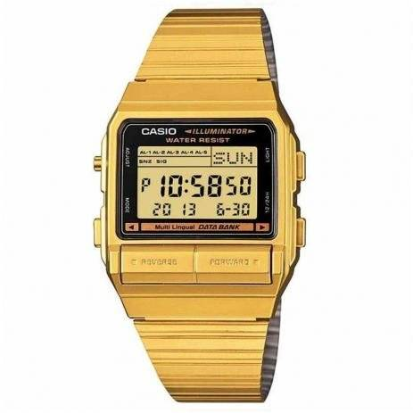 Relógio Casio Unissex Digital Quartz DB-380G-1DF