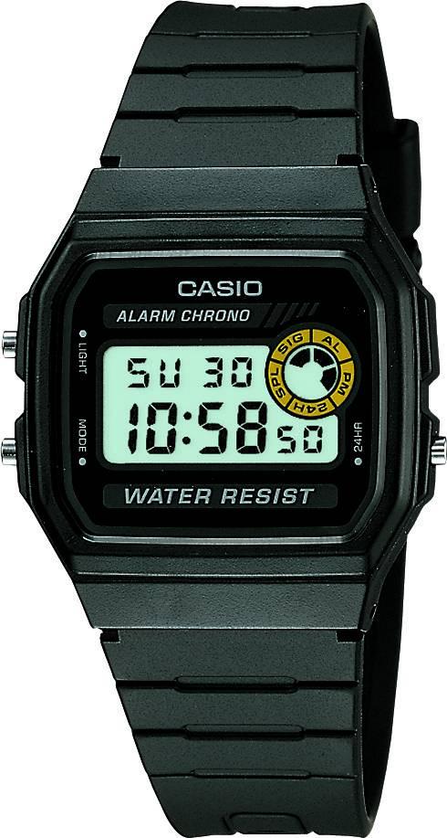 Relógio Casio Unissex Digital Quartz F-94WA-8DG