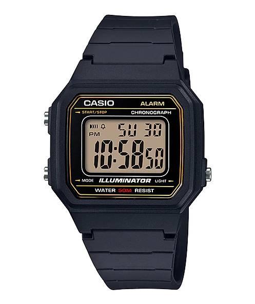 Relógio Casio Unissex Illuminator Quartz W217H-9AVDF