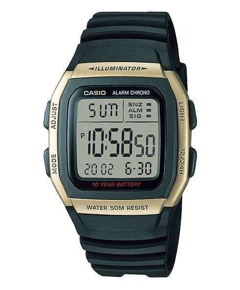Relógio Casio Unissex Illuminator Quartz W96H-9AVDF
