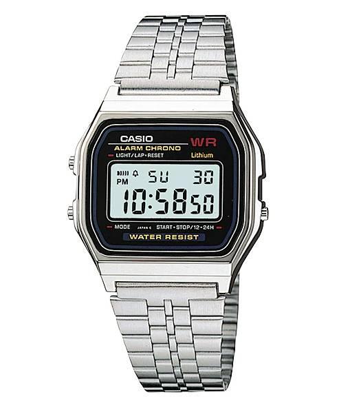 Relógio Casio Unissex Vintage Digital Quartz A159WA-N1DF
