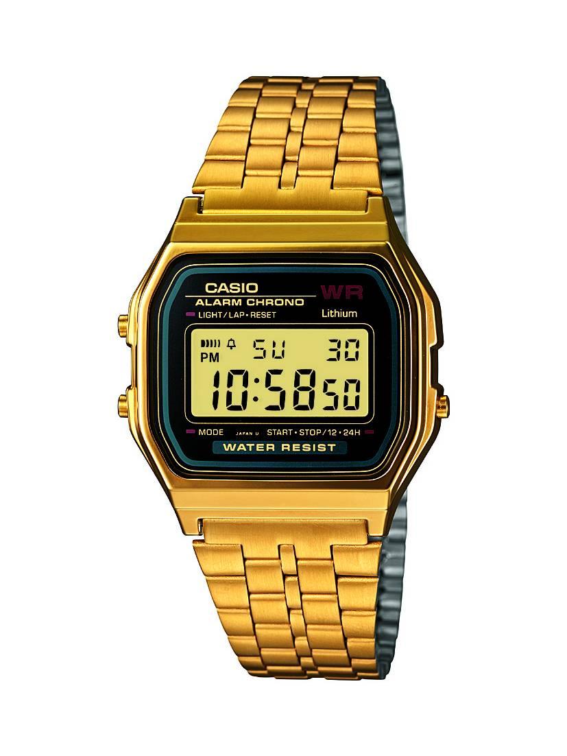 Relógio Casio Unissex Vintage Digital Quartz A159WGEA-1DF