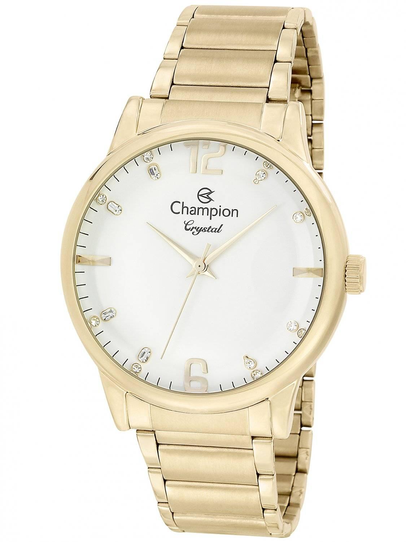 Relógio Champion Crystal Feminino Quartz CN25529H