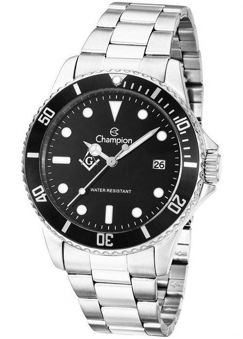 Relógio Champion Maçonaria Masculino Quartz CA31266T