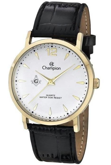 Relógio Champion Maçonaria Masculino Quartz CH22715M