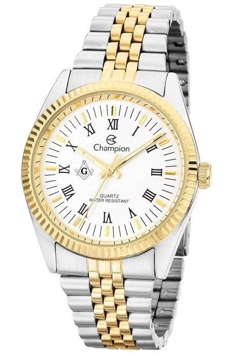 Relógio Champion Maçonaria Masculino Quartz CH22859B