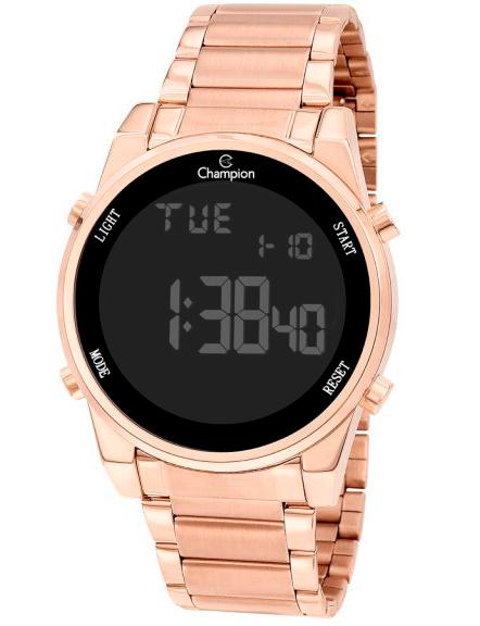 Relógio Feminino Champion Digital CH40071P - Rosê